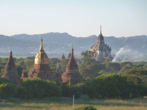 Abendstimmung in Bagan