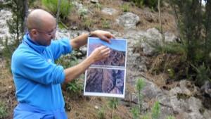 Fußweg zur Cueva del Viento
